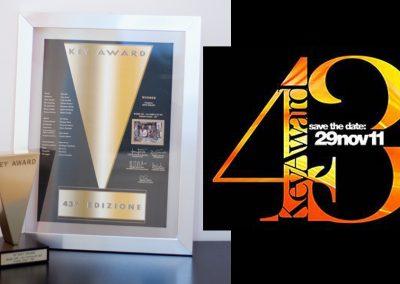 """43° Key Awards – R101 """"Emilio Fede"""""""